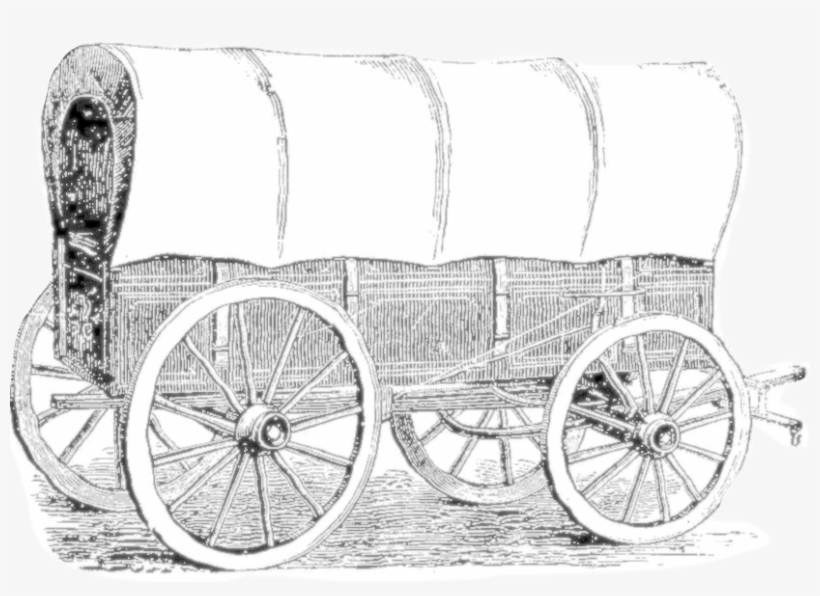 4/5 Covered Wagons $8 Admission Per Adult Piney Flats, - Carriage, transparent png #2804221