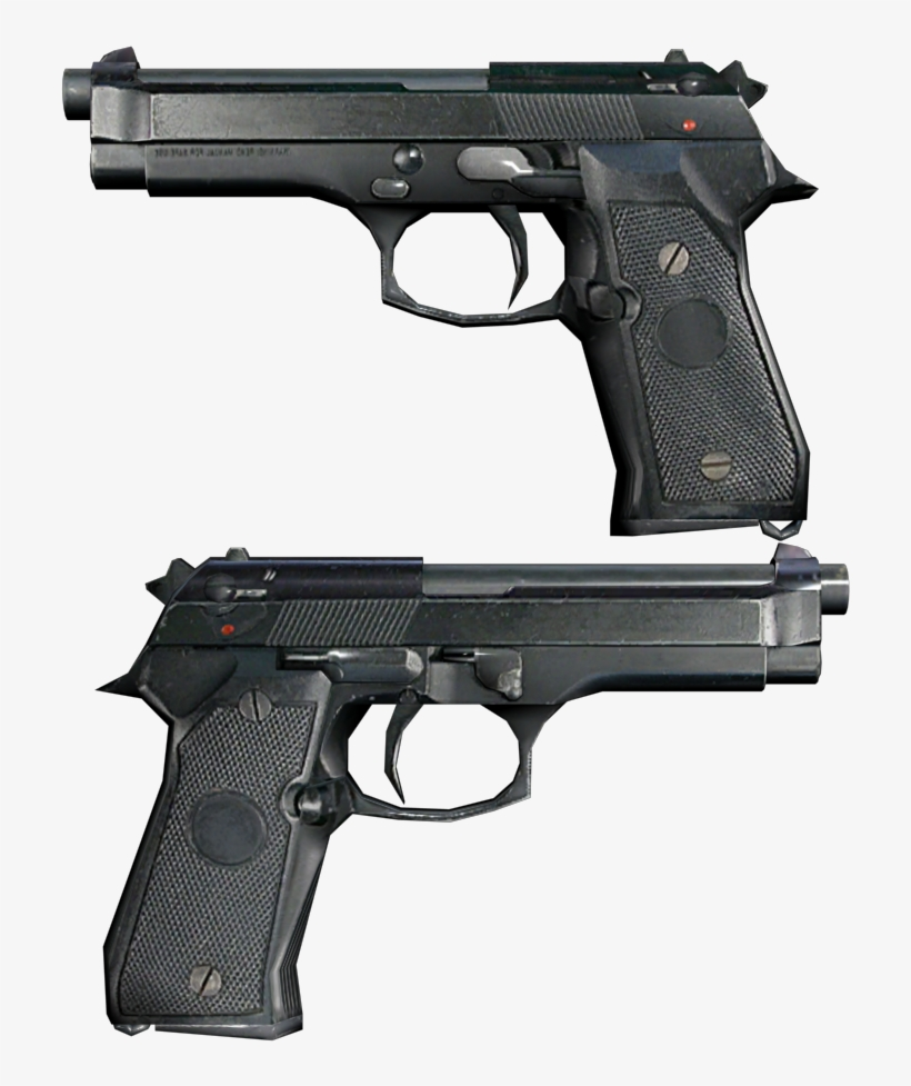 Beretta - Max Payne 2: The Fall Of Max Payne, transparent png #2805143