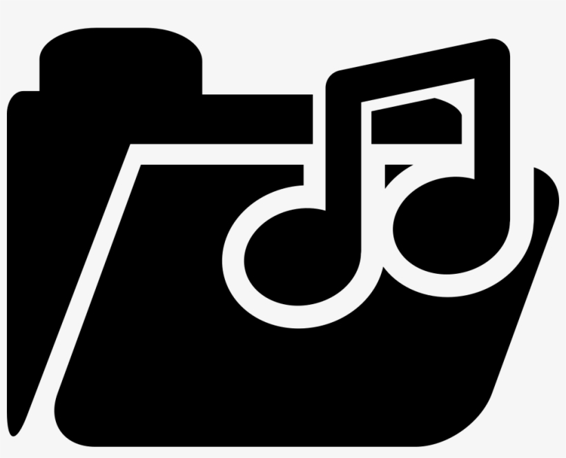 Music Note On Folder Comments - Music, transparent png #2807137