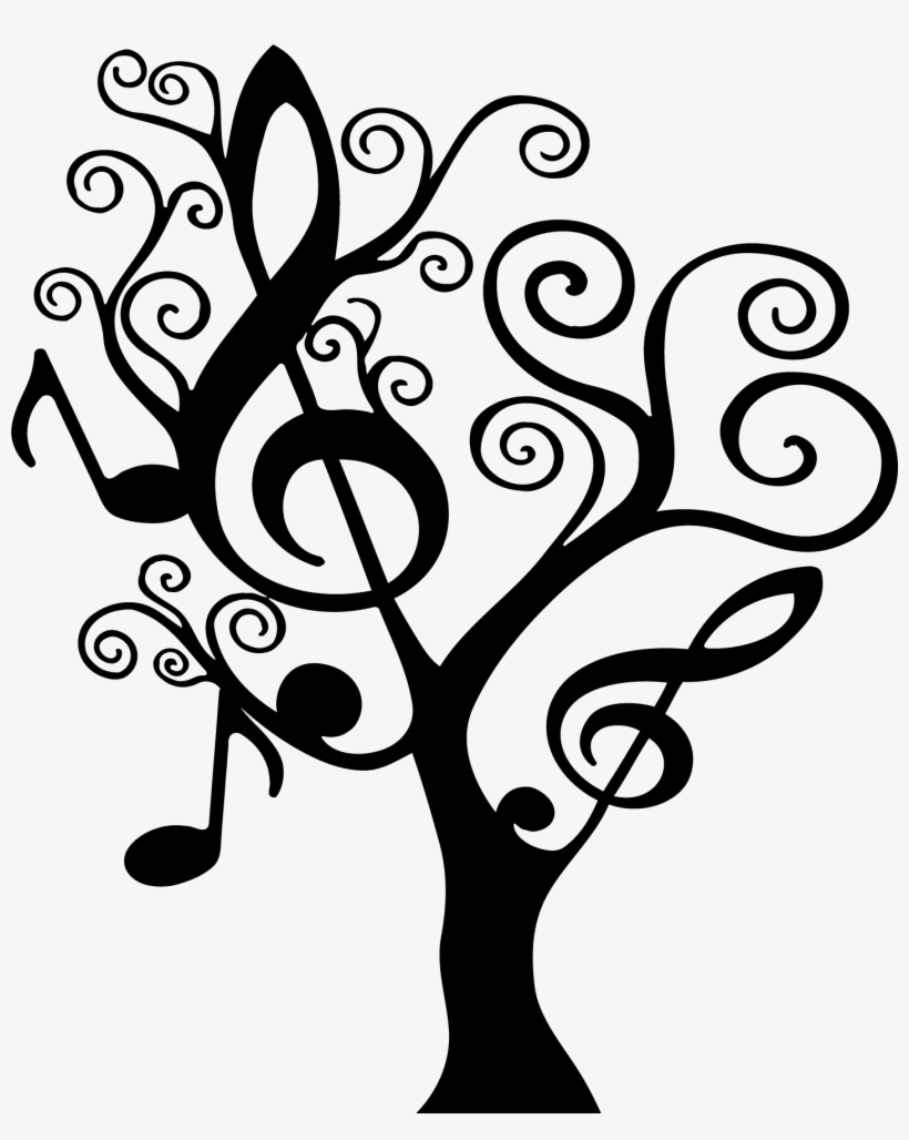 Music Symbols Drawing At Getdrawings - Music Note Tree, transparent png #2807177