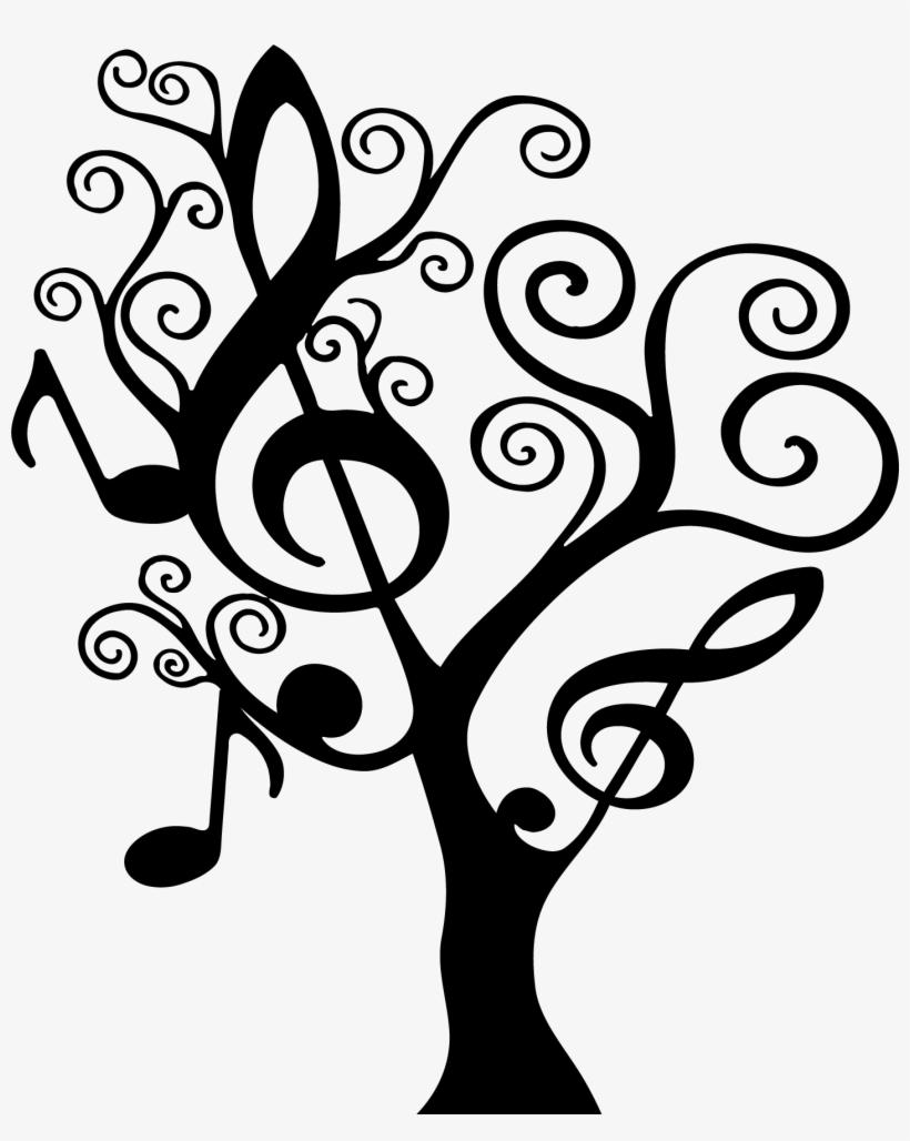 Music Symbols Drawing At Getdrawings Music Note Tree