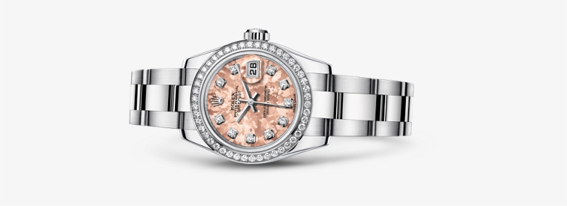 /rolex Replica /watches/lady Datejust/rolex Lady Datejust - Rolex Lady-datejust 26 179384, transparent png #2812416