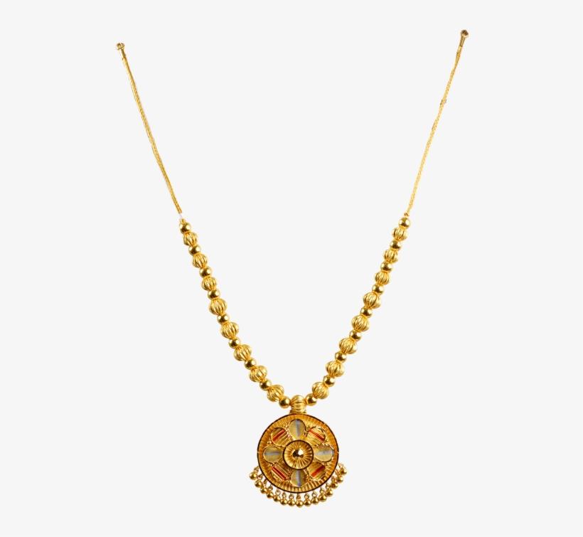 3fa3b7214 Light Weight Gold Chain - Calcutta Design Gold Necklace - Free ...