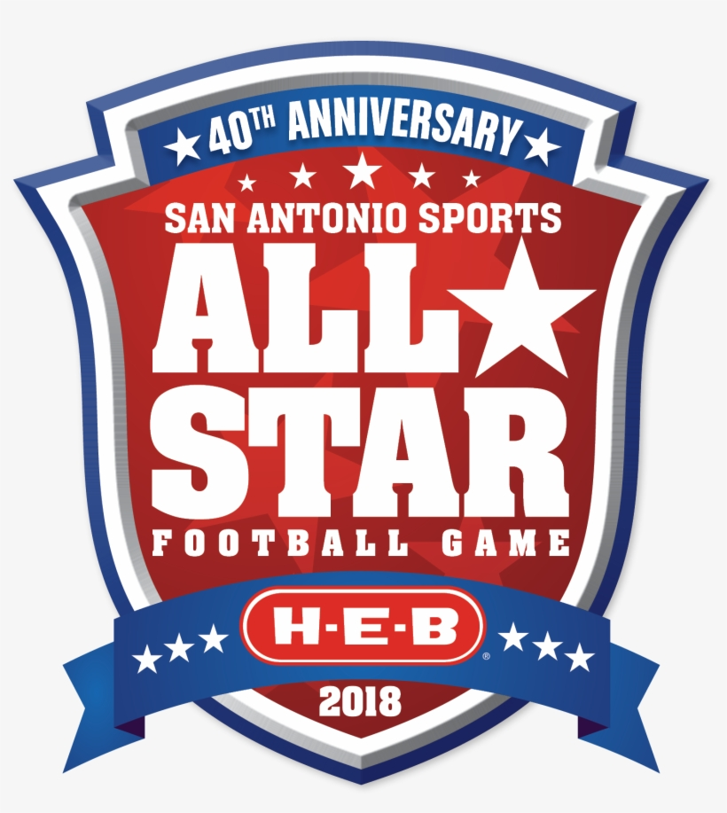 One Hundred Four Student Athletes Representing 54 High - Logo Football All Star 2017, transparent png #2813560