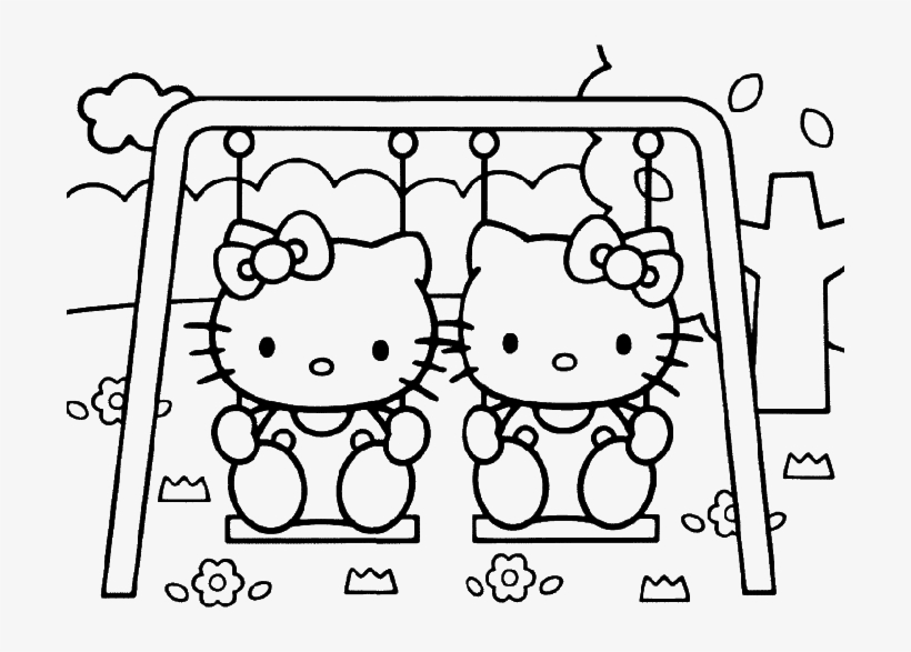 Hello Kitty coloring pages | Free Coloring Pages | 587x820