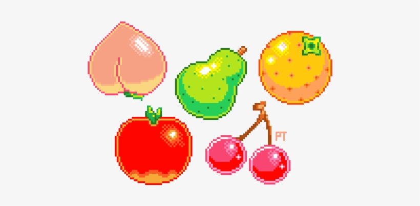 Cute Pixel Plant Png Tumblr Download Animal Crossing Fruits Wild