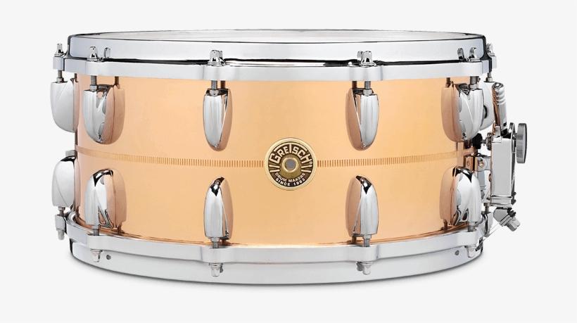 Snare - Gretsch Drums G4169b - Usa 14 X 6.5 Bronze, transparent png #2816438