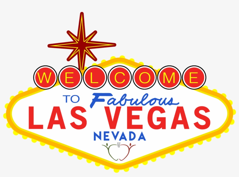 Vegas Sign Png Download - Welcome To Las Vegas Sign, transparent png #2816797