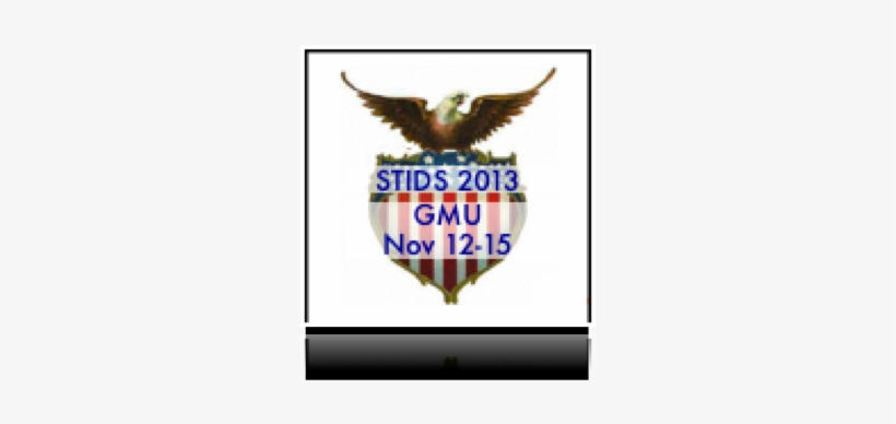 "Wednesday, May 16, 2012 - Vintage Patriotic Eagle And Square Sticker 3"" X 3"", transparent png #2817419"