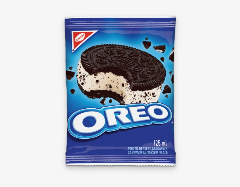 Oreo Sandwich - Oreo Birthday Cake Ice Cream Sandwich, transparent png #2818530
