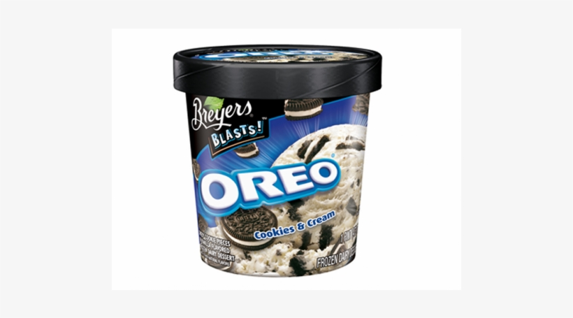 Cookies And Cream Ice Cream Breyers, transparent png #2818704