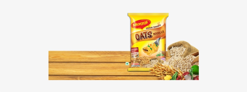 Maggi Oats Noodles - Augason Farms Emergency Food Quick Rolled Oats Pail, transparent png #2821515