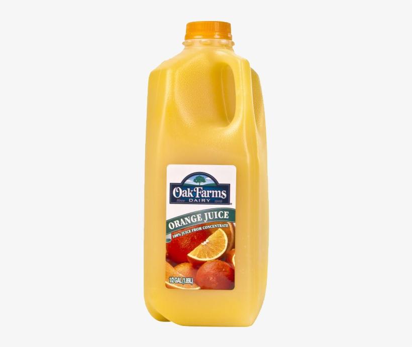 Oak Farms Milk, Whole - 1 Pt, transparent png #2823391