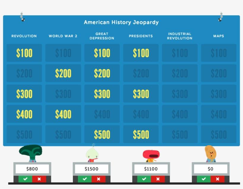 Jeopardy Rocks Create An Online Jeopardy Game In Minutes - Jeopardy