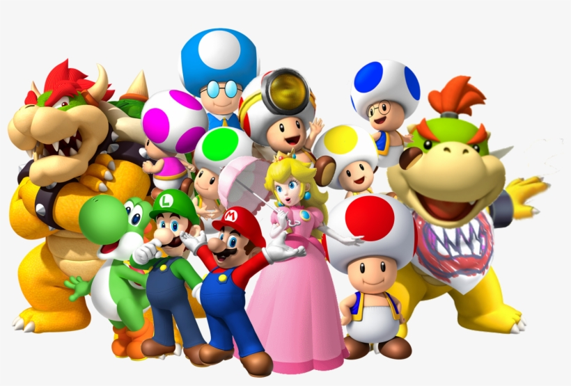 Group Png Super Mario Characters Group Free Transparent Png