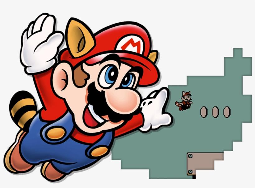Cape Mario Adventure Of Super Mario Bros 3 Cover Free
