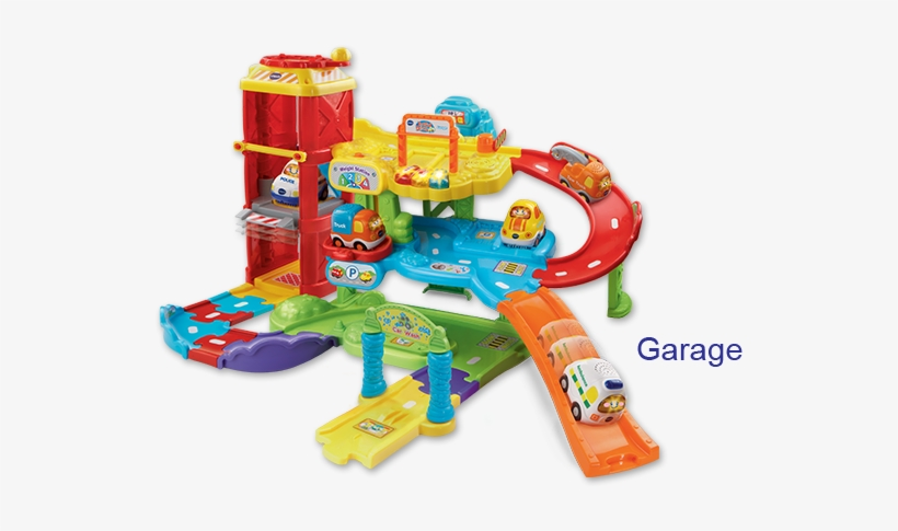 Plus, Playsets Are Equipped With Smartpoint Technology - Go Go Smart Wheels Parking Garage, transparent png #2825882