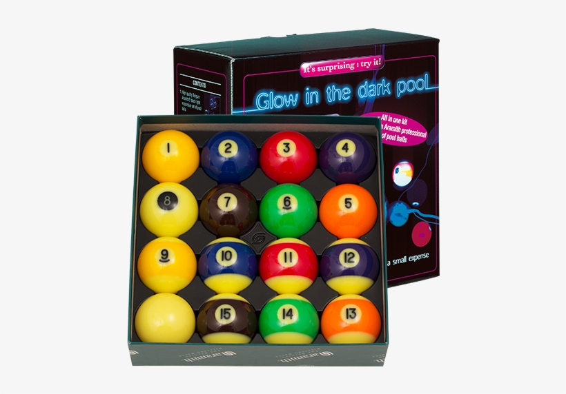 Aramith Glow In The Dark Table Kit, transparent png #2827938