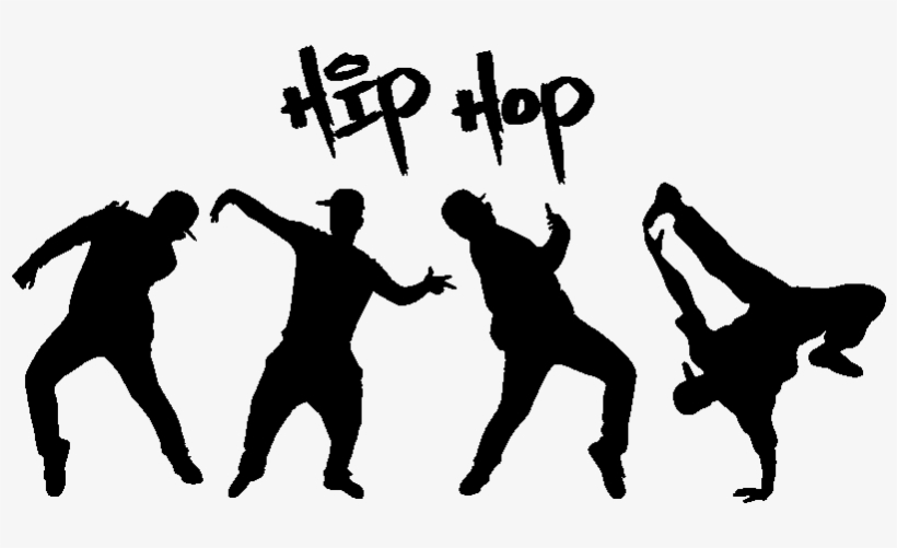 Hip Hop Dancer Silhouette Png Download - Hip Hop Evolution Bag, transparent png #2829612