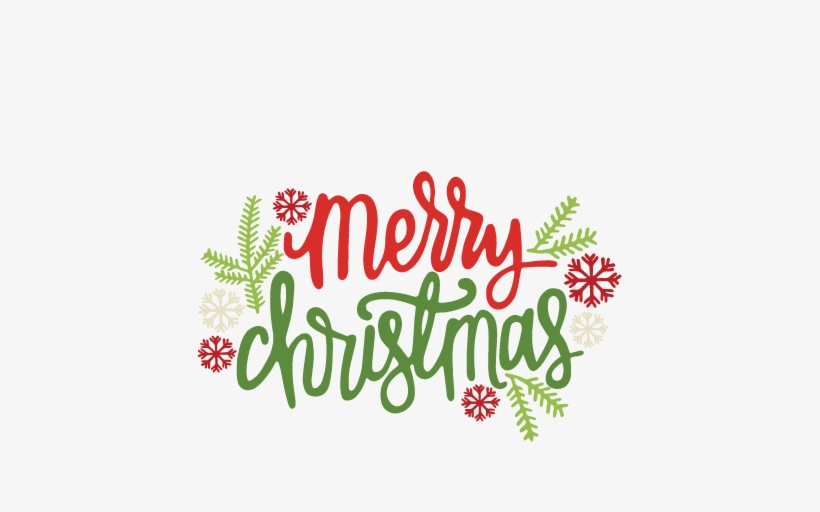 Merry Christmas Clip Art.Merry Christmas Clipart Title Cute Merry Christmas Png