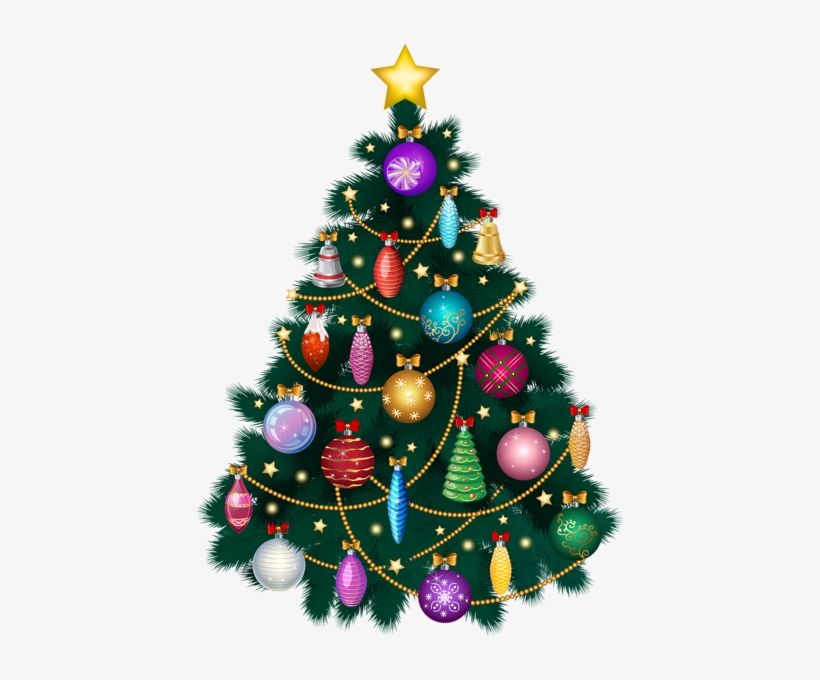 Christmas Deco, Christmas Trees, Merry Christmas, Art - Christmas Tree, transparent png #2831709