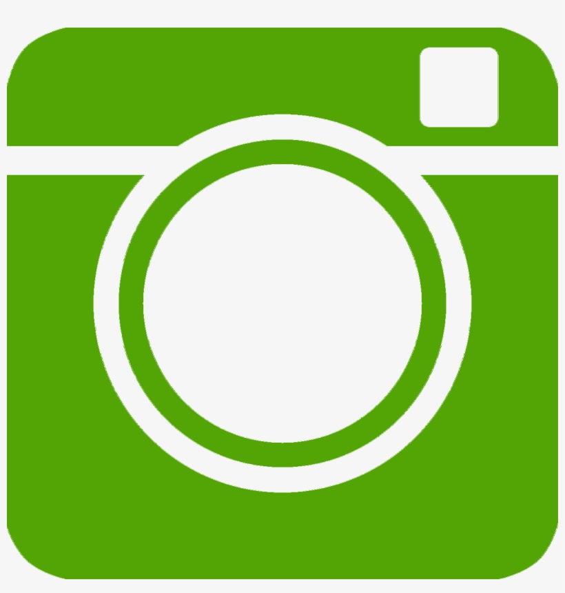Instagram - Green Instagram Icon Png, transparent png #2831852