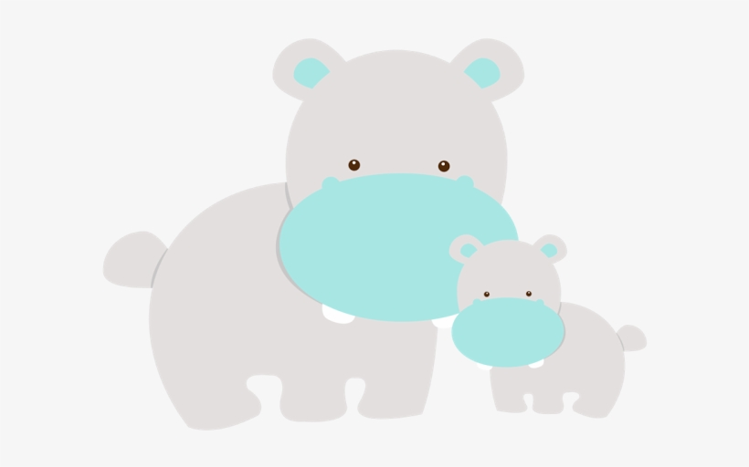 Mom And Baby Animals - Baby And Mom Animals Clip Art, transparent png #2833683