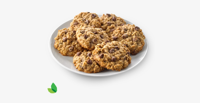 Oatmeal Chocolate Chip Cookie Made With Truvía® Cane - Chocolate Chip Cookie, transparent png #2834160