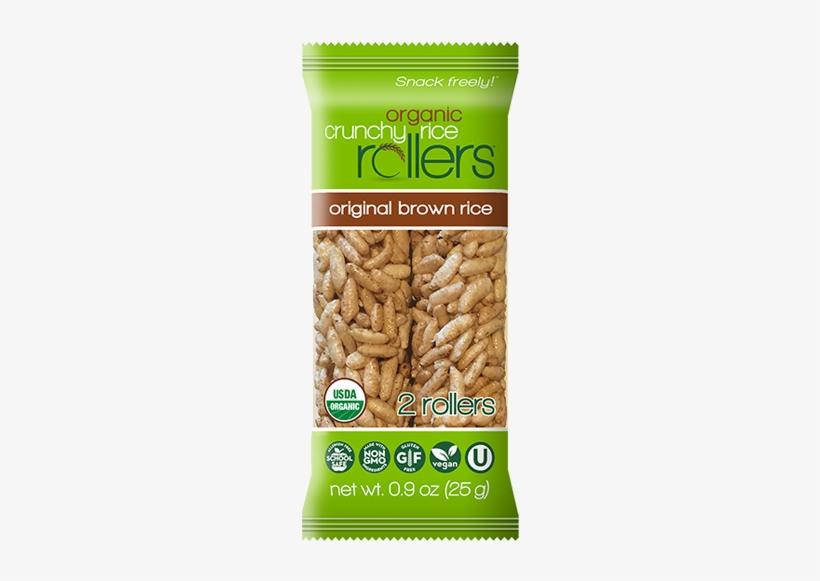 Original Brown Rice Grab N Go Case - Organic Crunchy Rice Rollers, transparent png #2839171