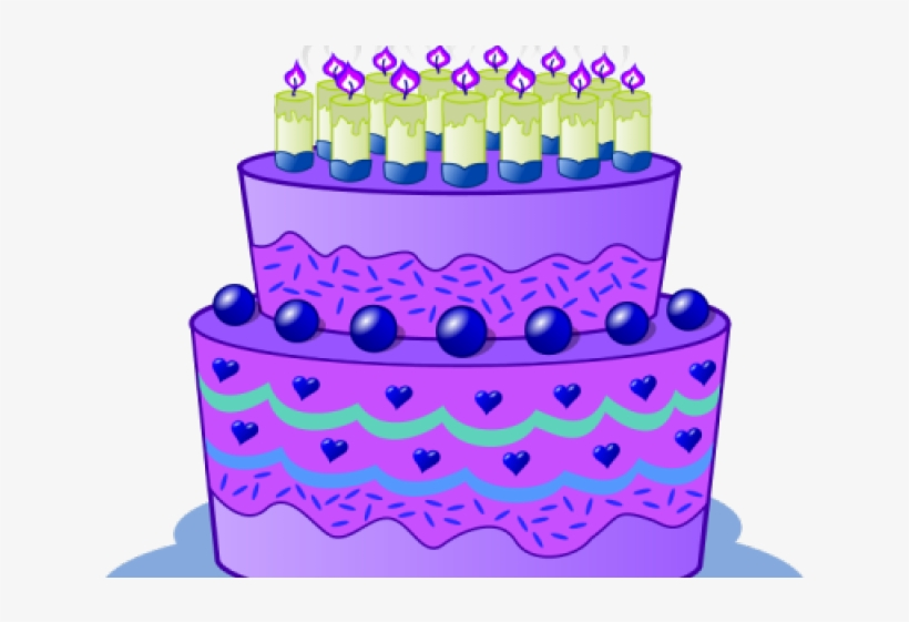 Sensational Birthday Cake Clipart Winter Purple Birthday Cake Clip Art Personalised Birthday Cards Cominlily Jamesorg