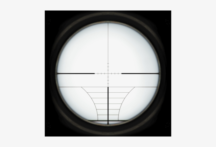Default Sniper Scope Reticle Roblox Scope Free Transparent Png