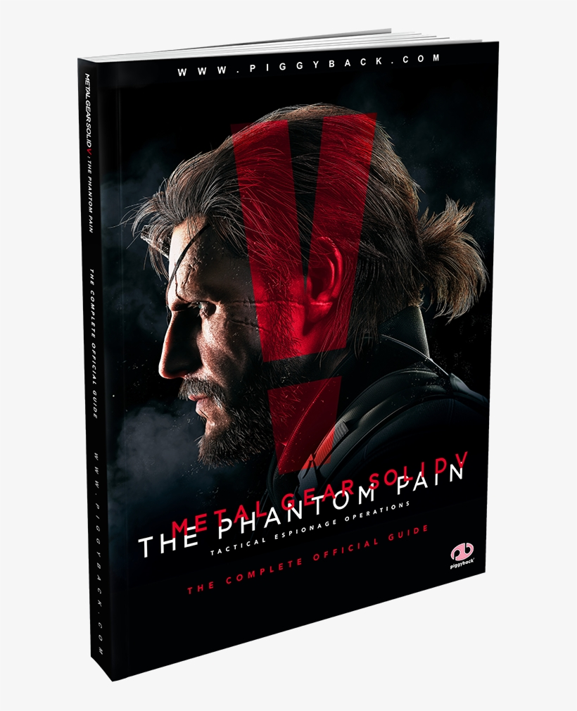 Metal Gear Solid V - Metal Gear Solid 5 The Phantom Pain Official Guide, transparent png #2840112