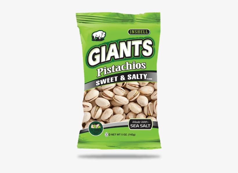 Giants Pistachios, Dill Pickle Flavor, In Shell - 4.5, transparent png #2845575