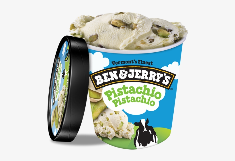 Pistachio Pistachio Ice Cream, Pint - Ben And Jerry's Coffee Coffee Buzz Buzz, transparent png #2846035