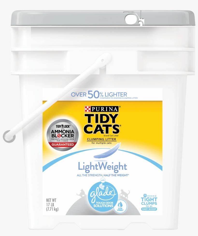 Purina Tidy Cats Lightweight Glade Tough Odor Solutions - Purina Tidy Cats Lightweight Clumping Cat Litter, transparent png #2847683