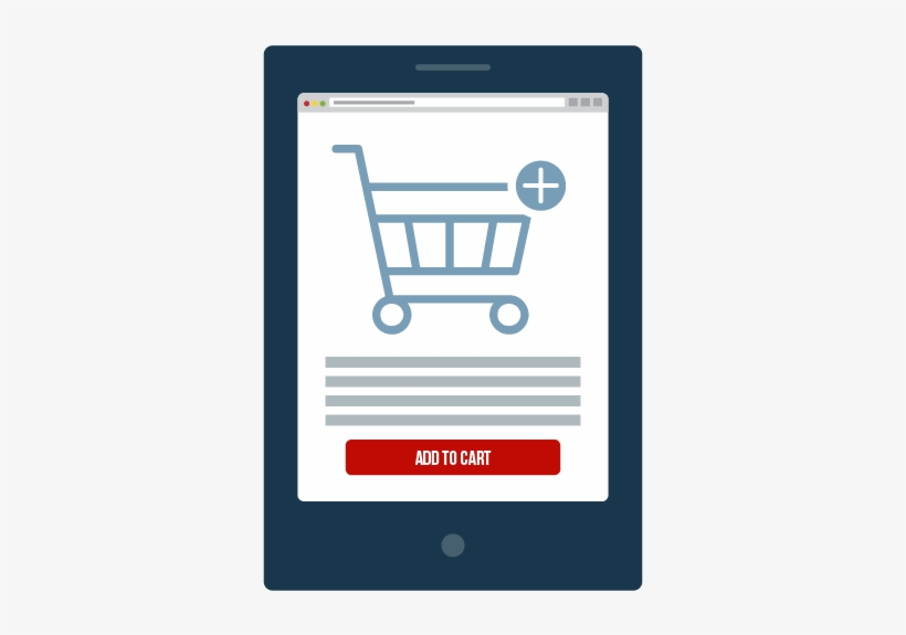Self Service From Shopping Cart To Returns With Erp - Shopping Cart, transparent png #2852128