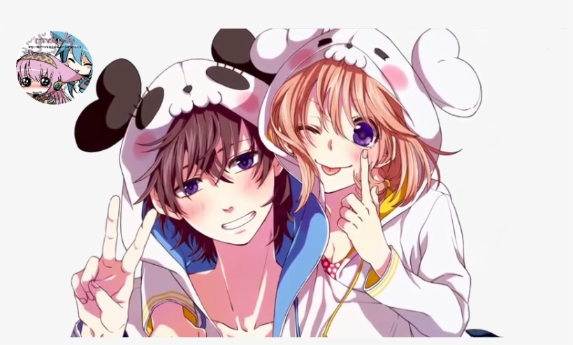 Render 2 Brother And Sister 3 By Flowerhihihaha-d7qrhb1 - Anime Girl And Boy, transparent png #2852774