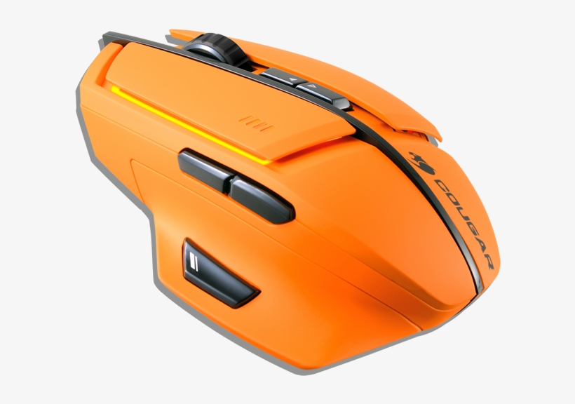 Cougar M600 Gaming Mouse Review - Cougar 600m Gaming Mouse - Orange, transparent png #2854285