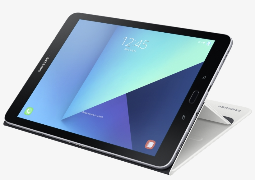 Samsung Tablet Png Download - Samsung Book Cover Ef-bt820 Flip Cover, transparent png #2854813