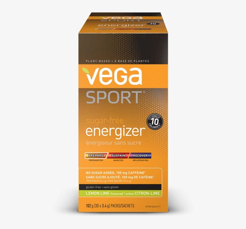 Vega Sport Sugar-free Energizer - Acai Berry - 4.5, transparent png #2855625