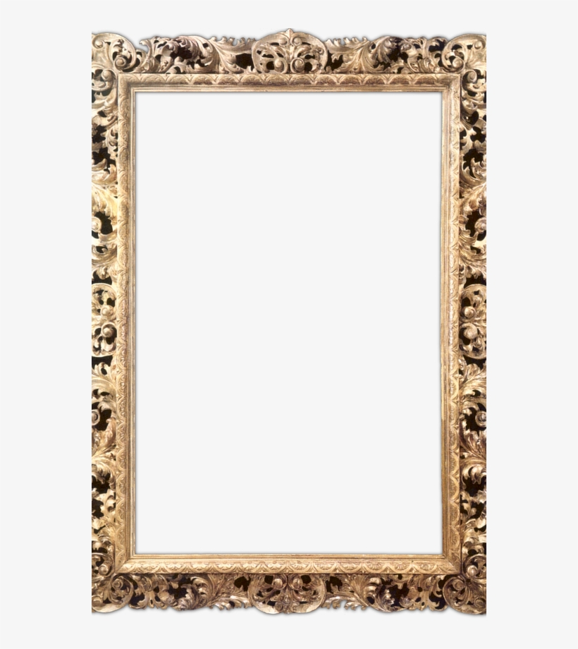 The Art Of Hair - Gold Frames, transparent png #2856974
