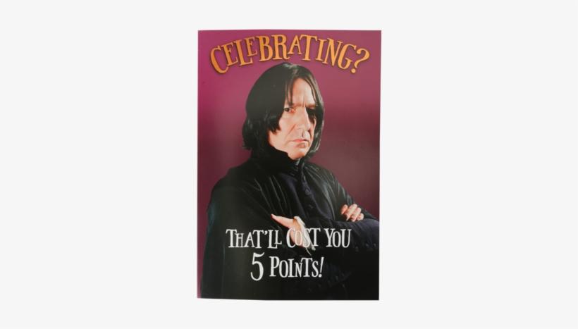 Severus Snape Greetings Card