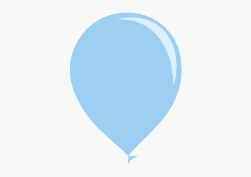 Balao Azul Claro Png Balao Azul Bebe Png Free Transparent Png