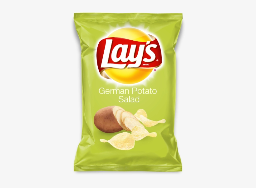 German Potato Salad Lays Chips Flavors, Potato Chip - Lays Fried Pickles With Ranch Chips, transparent png #2864273