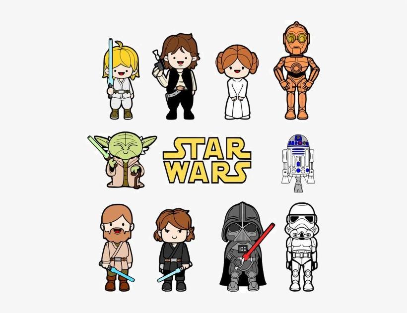Star Wars Kids Vector, transparent png #2864877