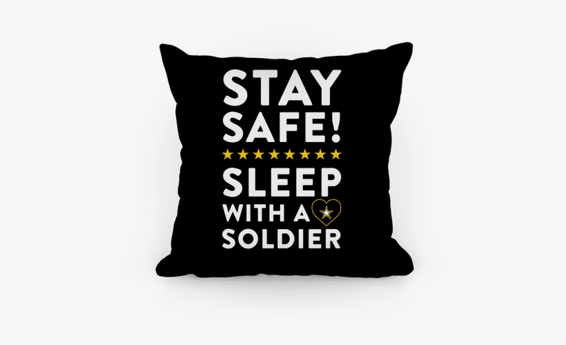 Sleep With A Solider Pillow - She's Beauty She's Grace She Ll Punch You In The Face, transparent png #2865453