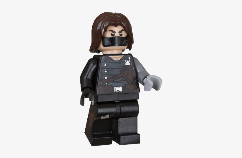 Over In The Uk, The Winter Solider Minifig Polybag - Lego Marvel Super Heroes Bucky, transparent png #2865750
