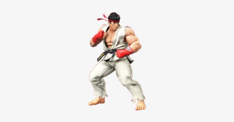 Jin Kazama Vs - Super Smash Bros. For Nintendo 3ds - Ryu, transparent png #2866853
