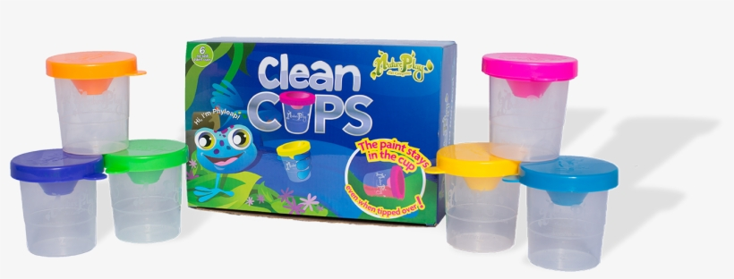 "No Spill Paint Cups ""clean Cups"" - Natureplay Clean Cups - No Spill Paint Cups, transparent png #2867172"