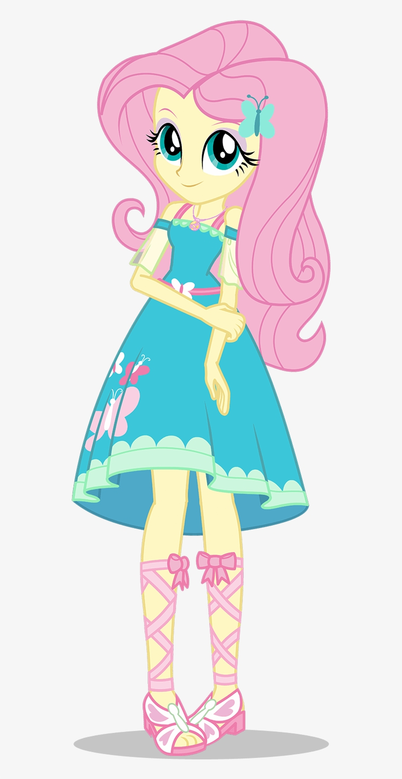 My Little Pony - My Little Pony Equestria Girls Fluttershy, transparent png #2869193